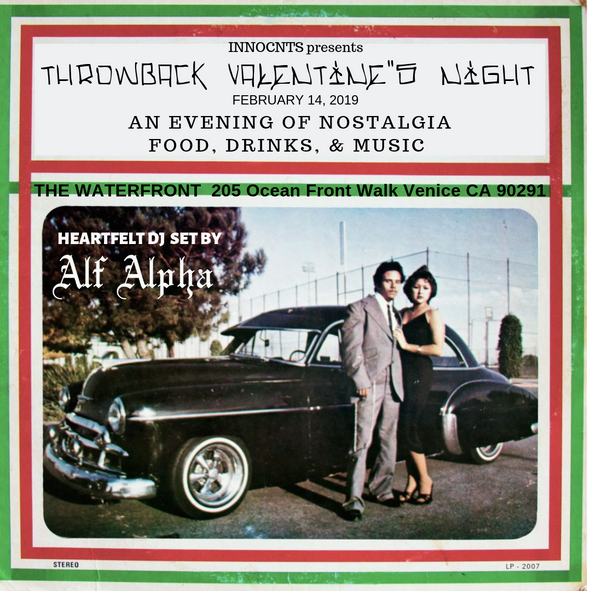Throwback Valentine's Night @ The Waterfront Venice