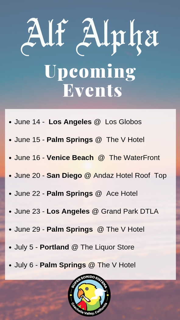 Upcoming Events Summer 2019