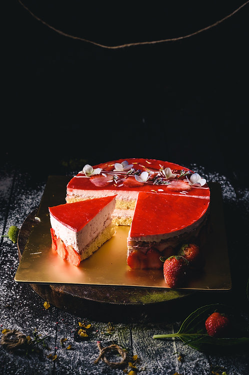 Strawberry Mousse
