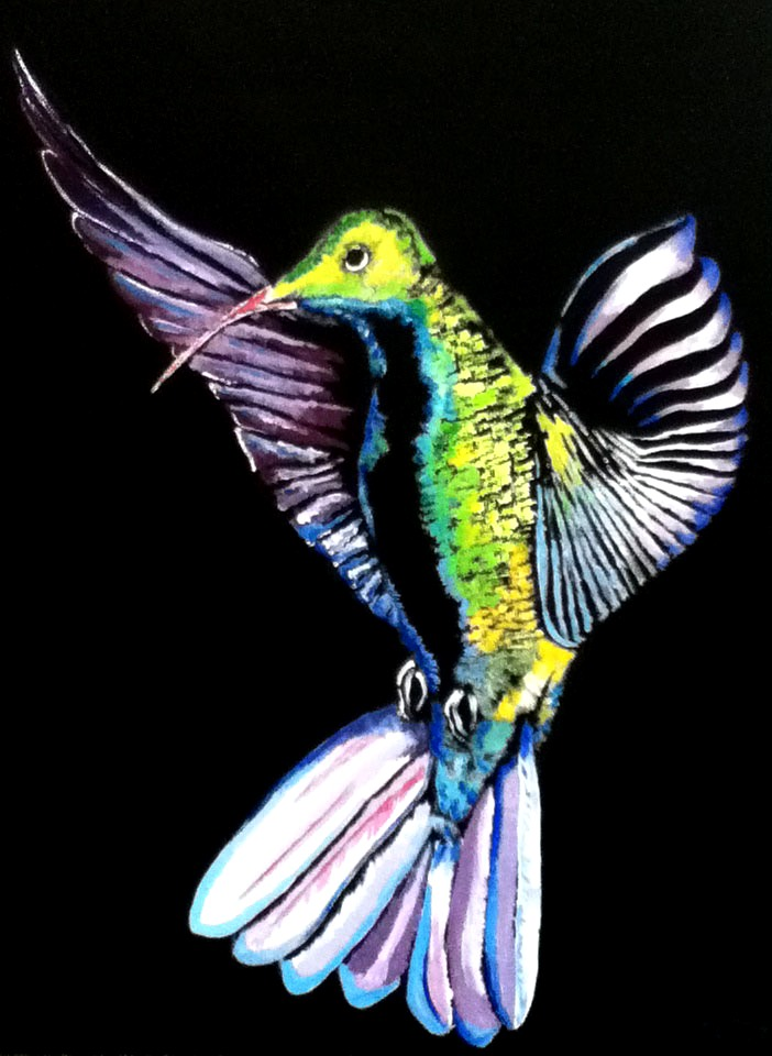 Hummingbird Pose