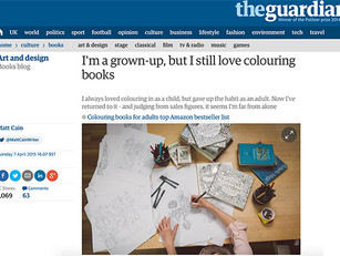 Matt Cain writes about adult colouring-in for The Guardian