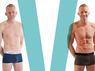 Matt Cain writes about male body image for Attitude