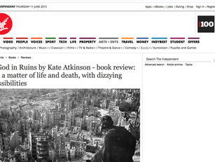 Matt Cain reviews A God in Ruins by Kate Atkinson for the Independent