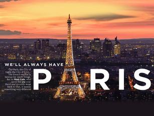Matt Cain writes about Paris for Attitude