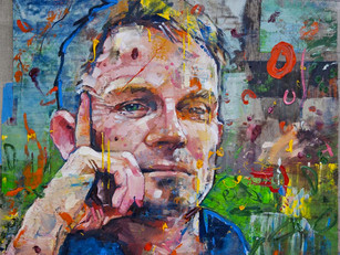 Matt Cain writes about having his portrait painted for the Independent