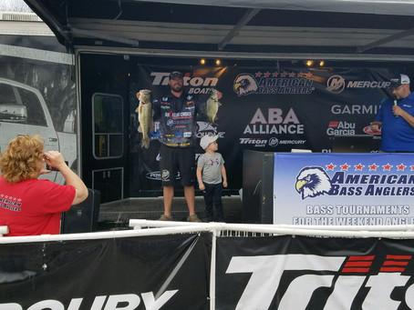Matt Mollohan wins the Ram Open on Lake Murray with 23.22 Pounds!