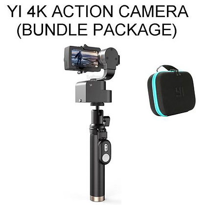 YI 4K Action Camera + Gimbal