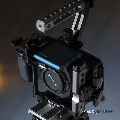 Blackmagic Pocket Cinema Camera 4K con Cage e HD da 500gb