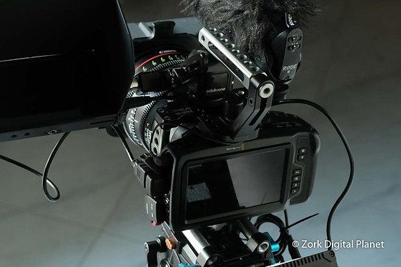 Blackmagic Pocket Cinema Camera 4K in Kit con Ottiche cinema Canon Cn