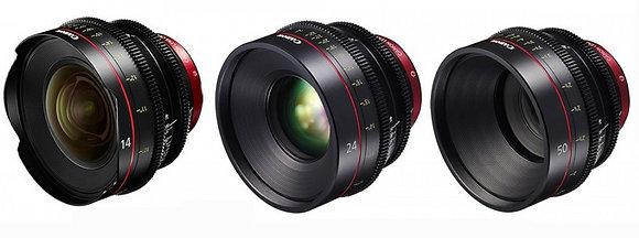 Kit ottiche Canon Cn n.3 ottiche a scelta
