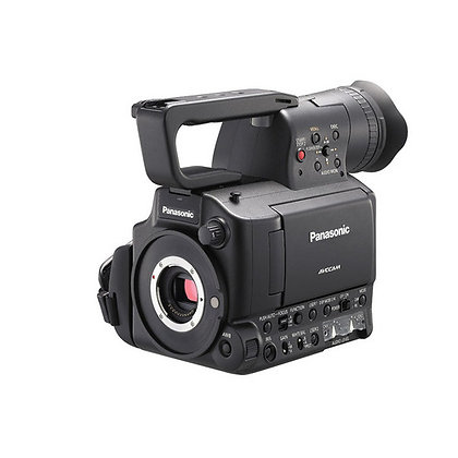 Panasonic Af 101 in kit operativo con Zoom Olimpus 14/35 F2 e Olimpus 70/300