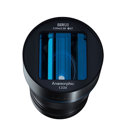 SIRUI 50mm anamorfico 1.33 attacco micro 4/3