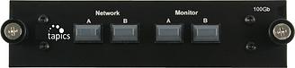 Tap,optique,100 giga,100,Gbps,1 lien,connectique MTP, connectique MPO