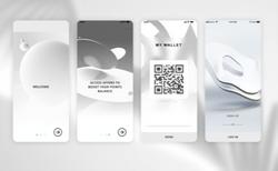 Grey app icon