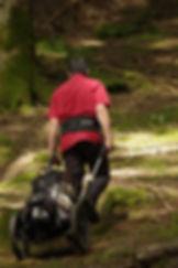 Trekkinganhänger und Ziehwagen der Spitzenklasse