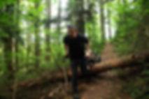 Trekkinganhänger / Wanderanhänger