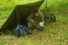 Trekkinganhänger Trek-PACKER mit Tarp