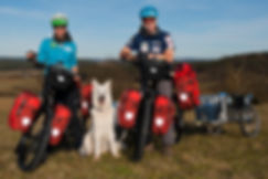 BENPACKER Fahrradanhänger Bike-PACKER