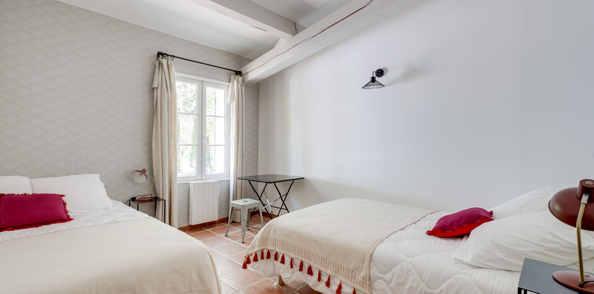 Travelers House, bedroom 2, Mas Saint-Gens