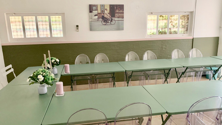Meeting room, Mas Saint-Gens