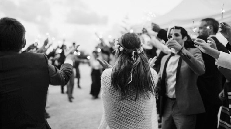 Small wedding at Mas Saint-Gens, Provence