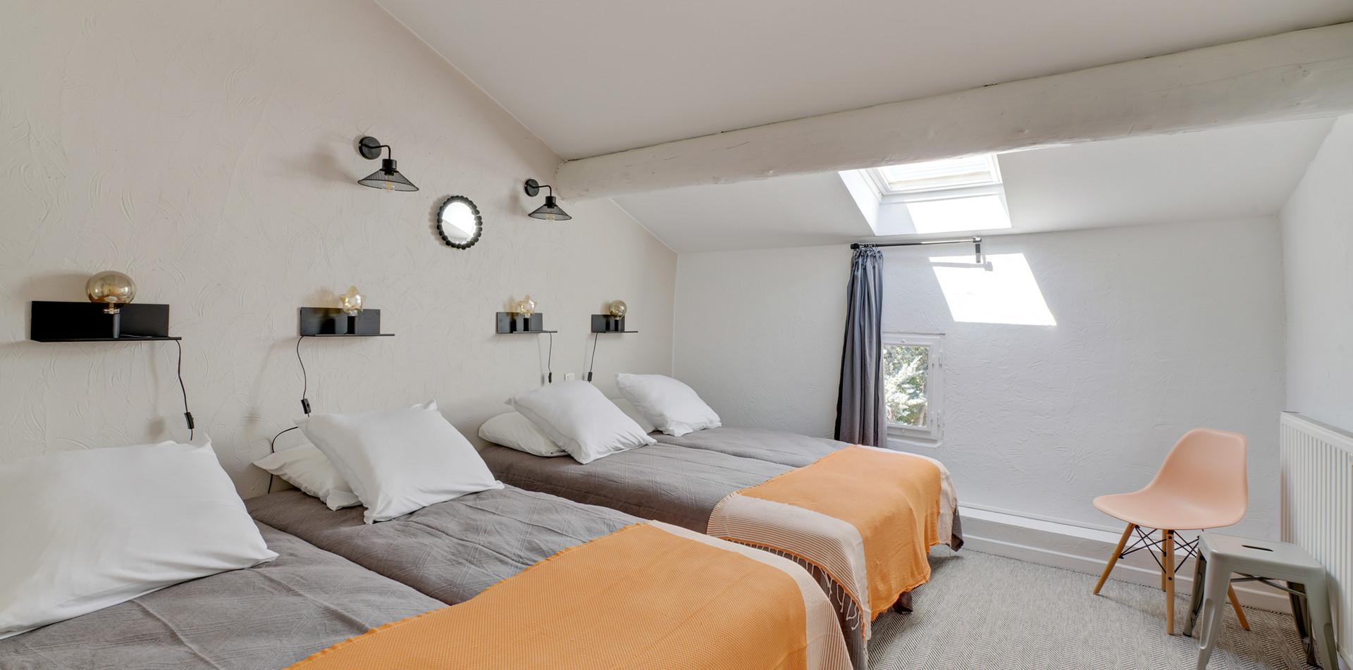Maison du Bonheur, bedroom 2, Mas Saint-Gens