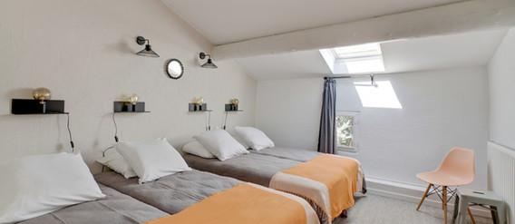 Maison du Bonheur, chambre 2, Mas Saint-Gens