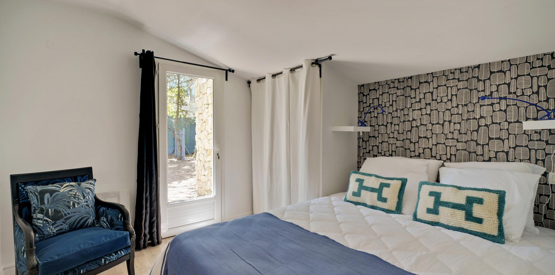 Maison des Amis, bedroom 4, Mas Saint-Gens