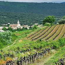 Le village depuis les vignes