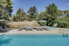 Piscines du Mas Saint-Gens, grand gite Provence Carpentras