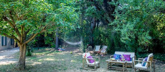Maison des Voyageurs Mas Saint-Gens jardin privatif