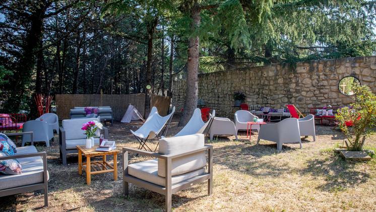 Espace lounge Mas Saint-Gens