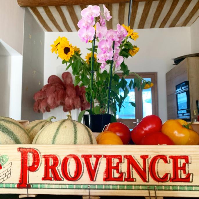 Les fruits et légumes de notre producteu