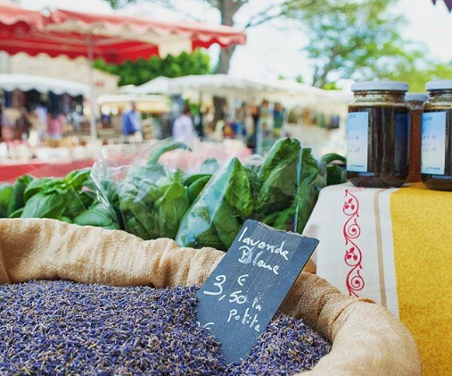 Provence markets around Mas Saint-Gens