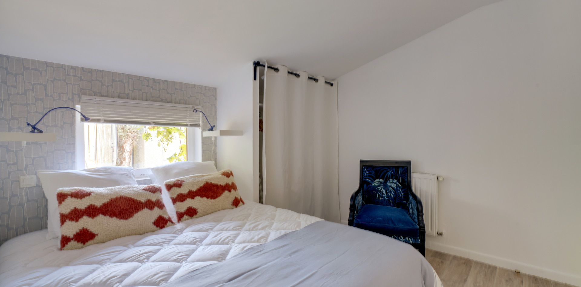 Maison des Amis, bedroom 3, Mas Saint-Gens