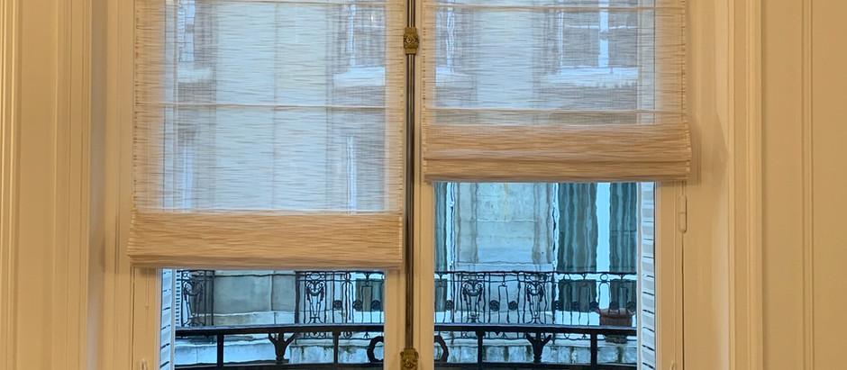 Livraison des habillages de fenêtres
