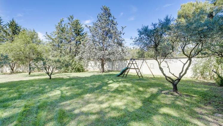 The private garden of Mas Saint-Gens