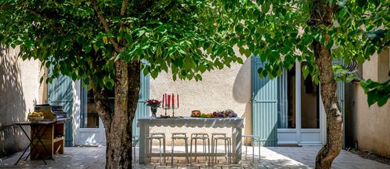 Maison des Voyageurs Mas Saint-Gens, terrasse privatif barbecue