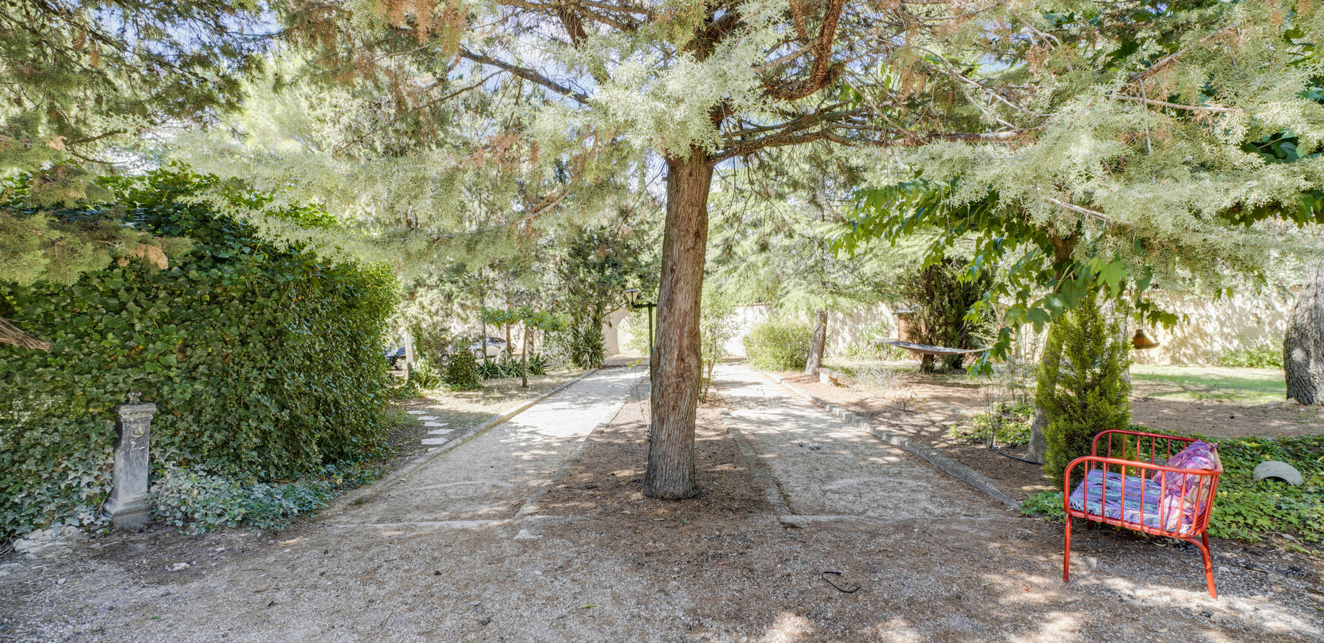 The petanque grounds of Mas Saint-Gens