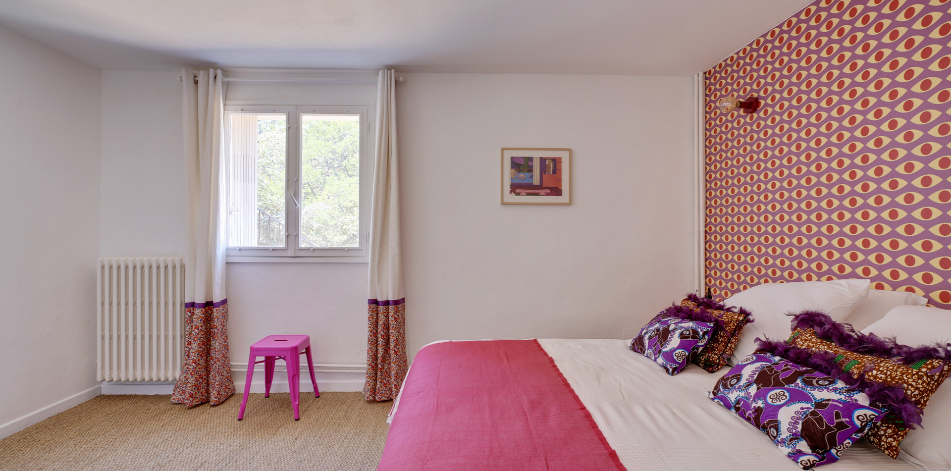 Maison des Souvenirs, bedroom 1, Mas Saint-Gens