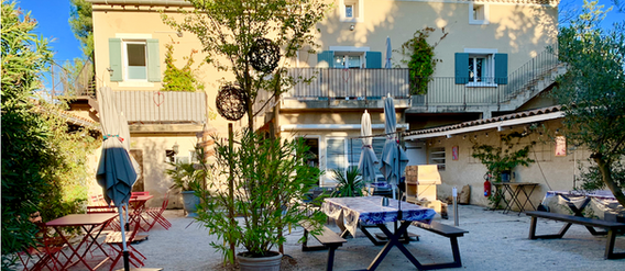 Le Mas côté patio, Mas Saint-Gens