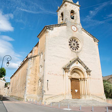 Villes-sur-Auzon, Eglise