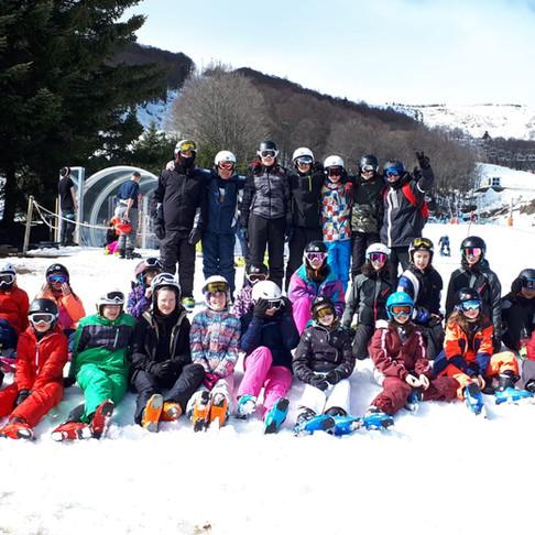 Mars 2020 : classe de neige, entre sport et études