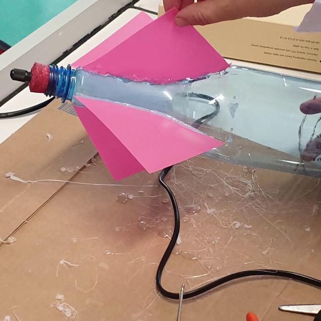 Fusées à eau