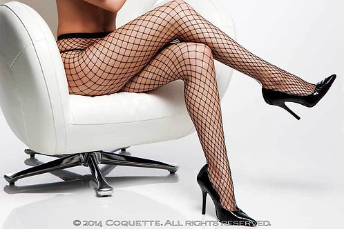Coquette Diamond Fishnet Stocking