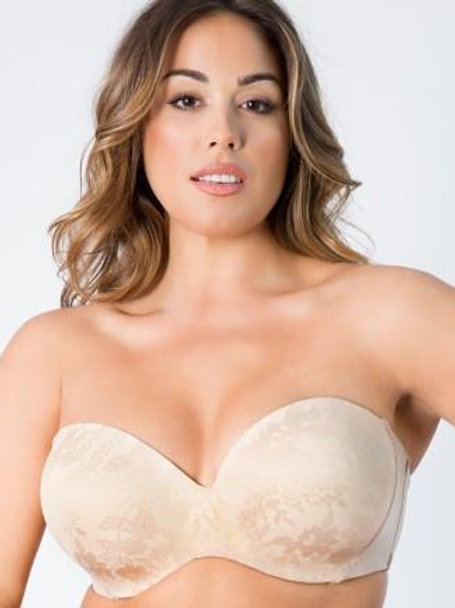 Curvy Couture Strapless Multi Way Bra