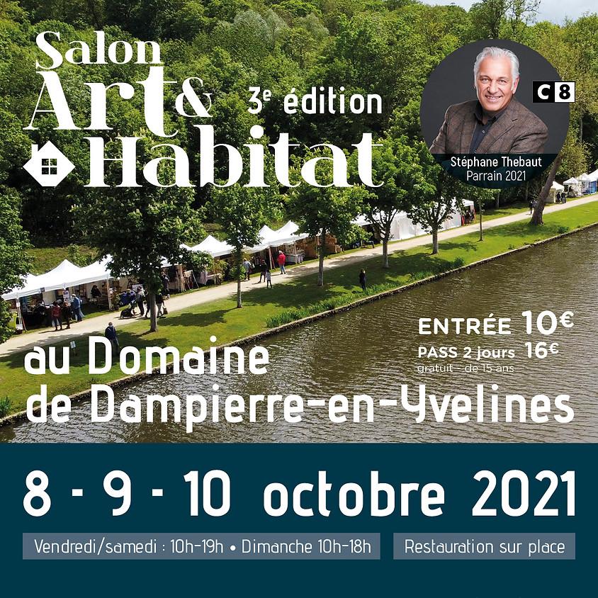 Salon Art & Habitat au Domaine de Dampierre-en-Yvelines (1)