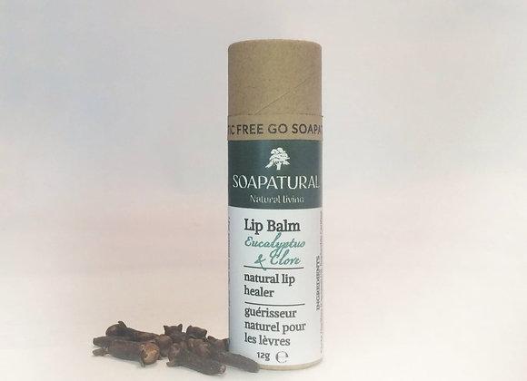 Eucalyptus & Clove Lip Balm