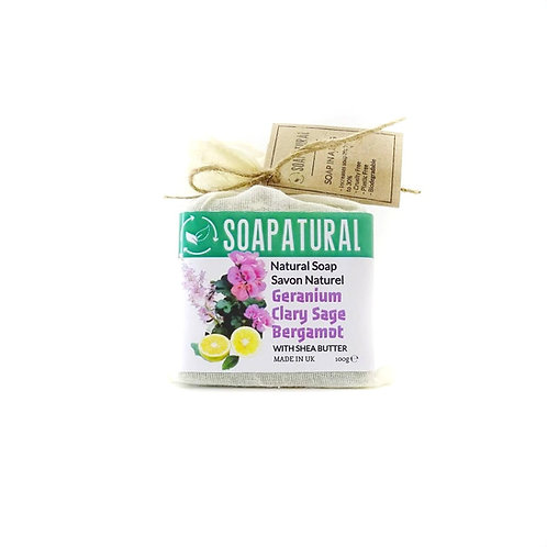 Geranium, Clary Sage & Bergamot