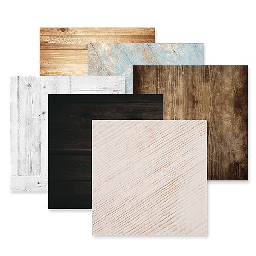 Timber 12x12 Paper Pack